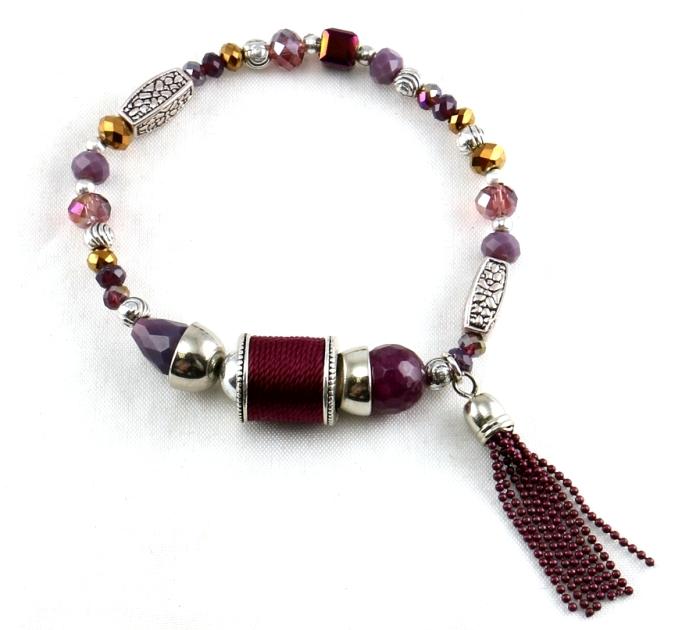 tendances couleurs hiver 2016-2107 : bracelet violet