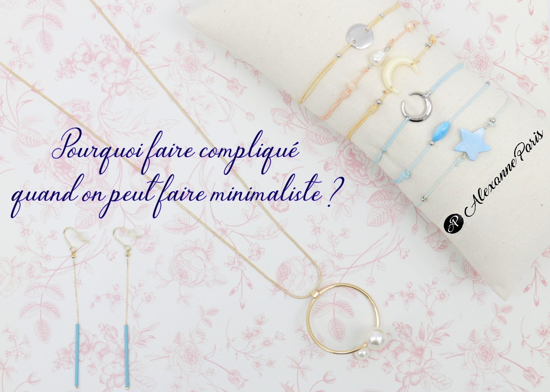 Alexanne bijoux minimaliste