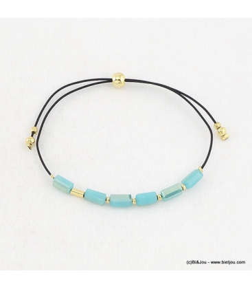 bracelet fantaisie noeud macramé