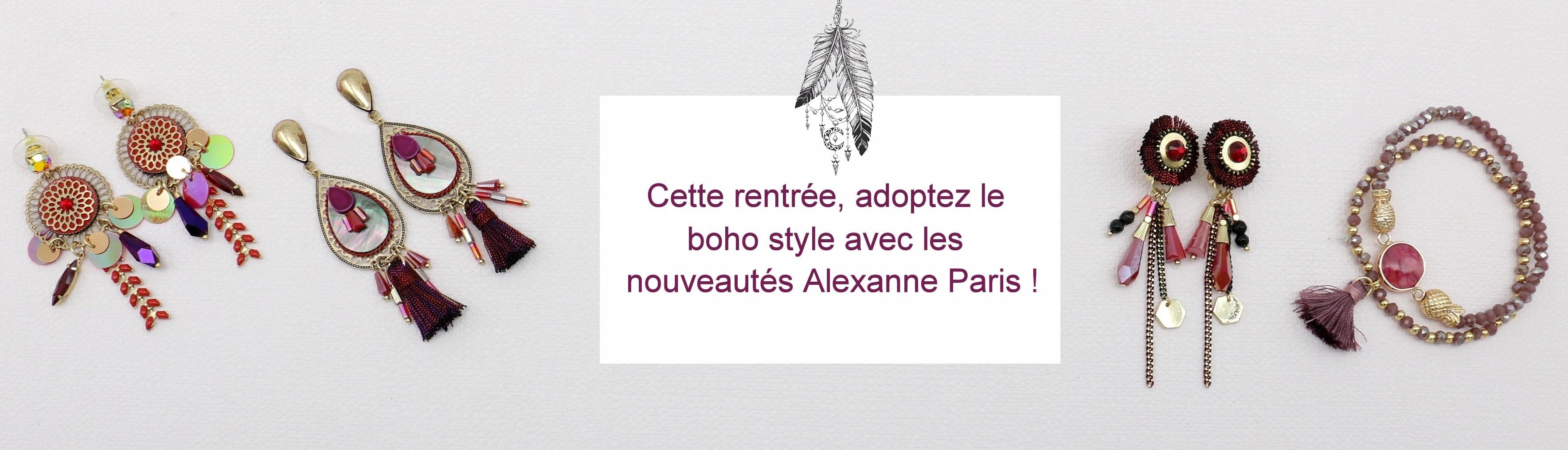 bijoux bohème Alexanne Paris
